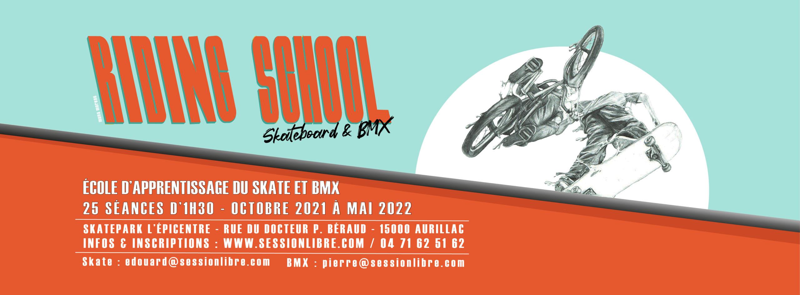 Riding School 2021 – 2022 (Skate // BMX)